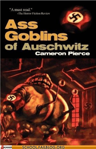 ass goblins of auschwitz,bargain books,books,Hall of Fame,literature