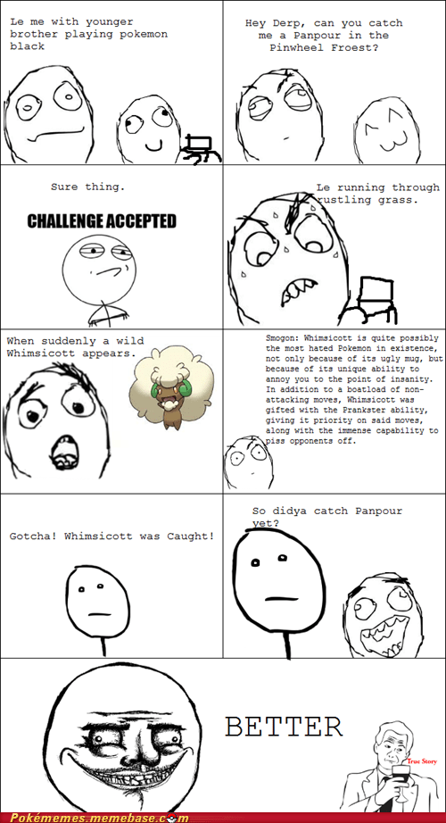 annoying rage comic Rage Comics smogon whimsicott