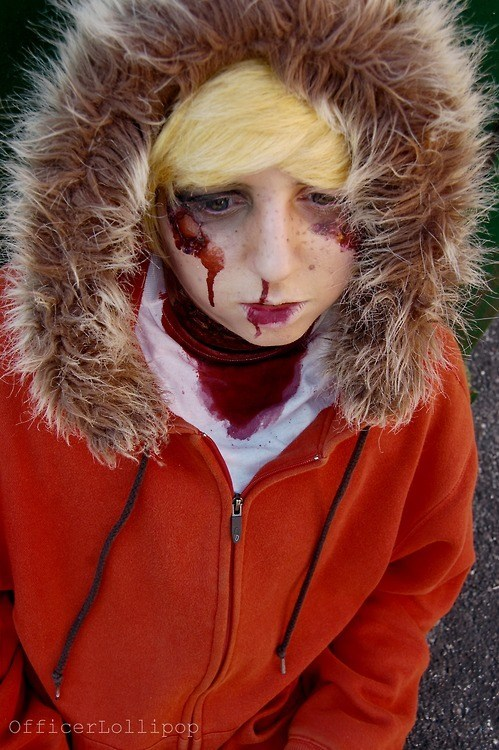 cartoons cosplay Kenny South Park - 6417074688