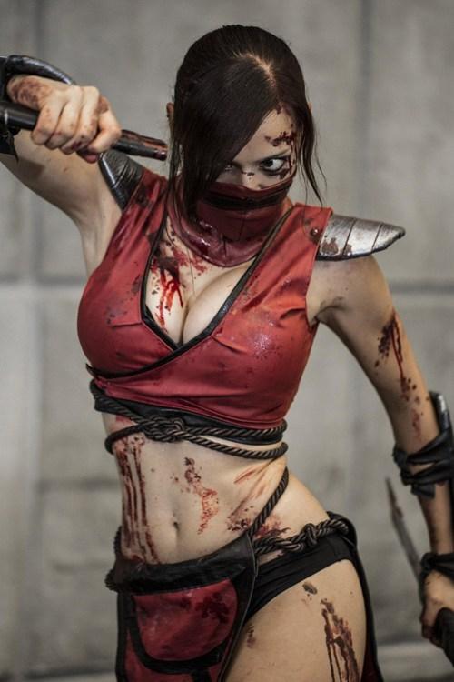 cosplay Mortal Kombat skarlet video games - 6417087232