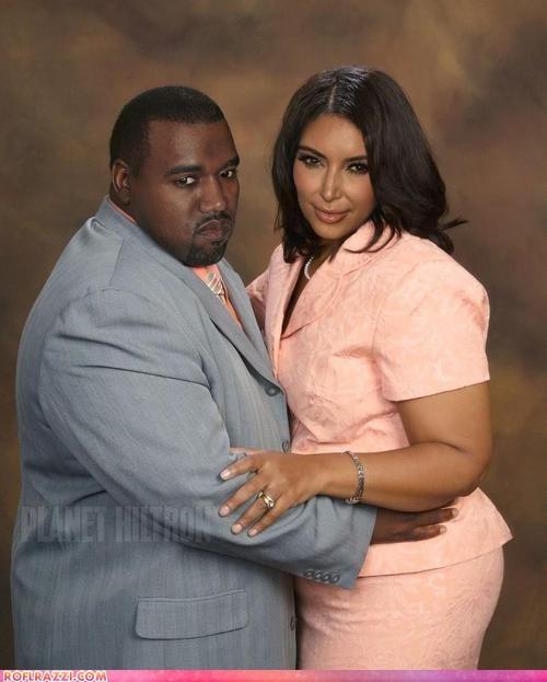 celeb fake funny kanye west kim kardashian Music rap reality tv shoop - 6417093120