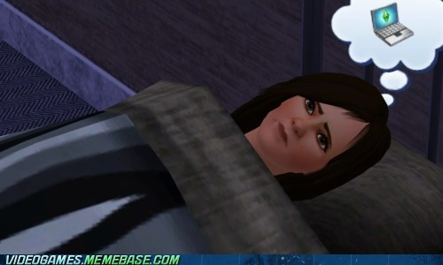 dream in a dream,PC,The Sims