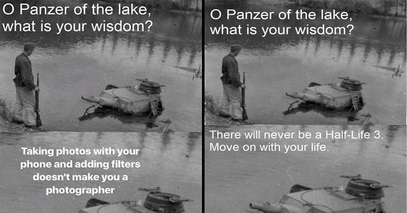 photography war tanks history gaming panzer funny memes Memes Photo video games historical photo - 6417157