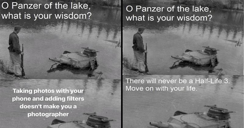 photography war tanks history gaming panzer funny memes Memes Photo video games historical photo - 6417157