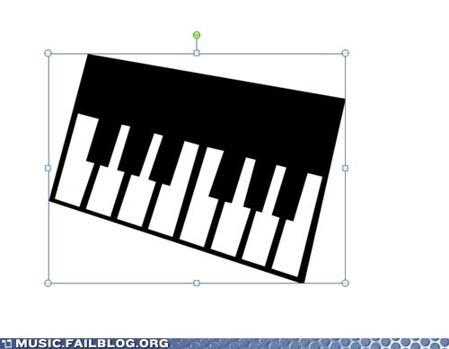 clip art FAIL piano - 6417173248
