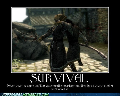 npc,Skyrim,survival,the internets