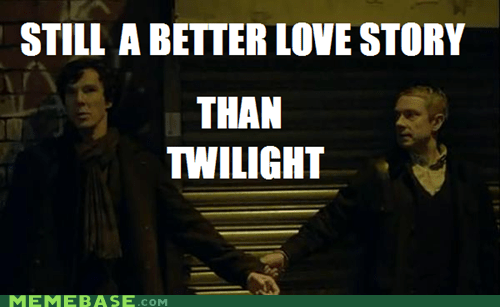 bbc It Came From the It Came From the Interwebz Memes Sherlock twilight - 6417214720