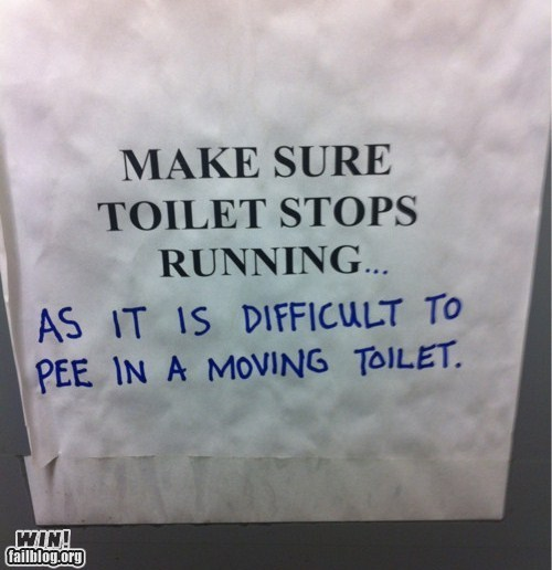 Challenge Accepted clever sign toilet - 6417345024