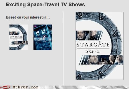 doctor who,netflix,Stargate,Stargate SG-1