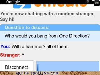 bang,Omegle,one direction,spymode