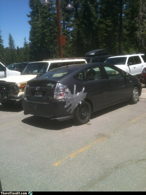 duct tape environment hippies Prius - 6417778176