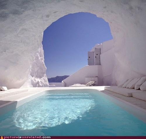 frozen ice pool warm wtf - 6417912320