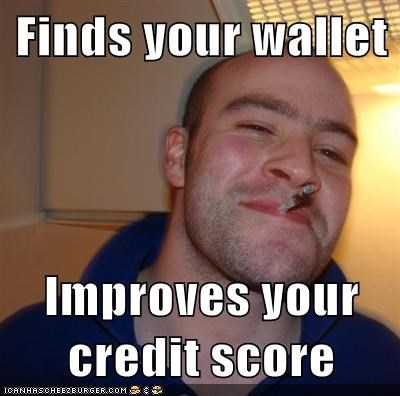 good credit score meme