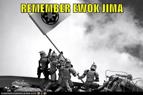 iwo jima political pictures star wars world war II