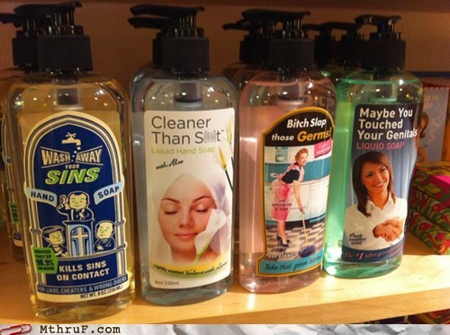 shampoo,soap
