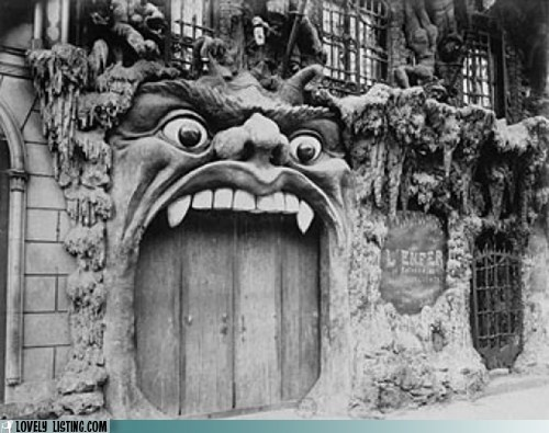 crazy devil door gate hell mouth