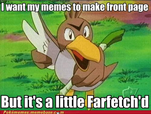 farfetchd front page Memes meta Pokémemes