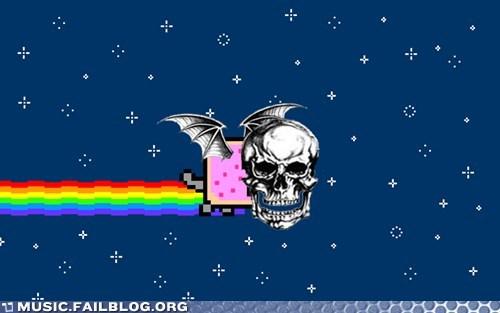 avenged sevenfold deathbat Nyan Cat - 6418401536