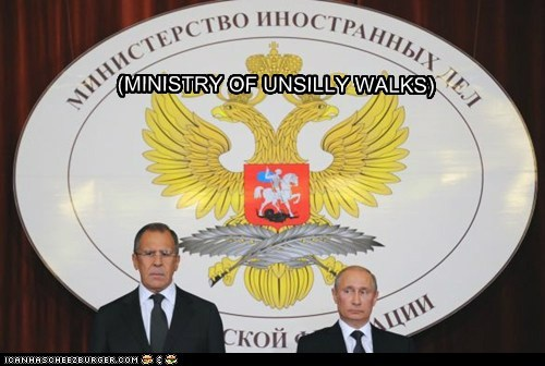 (MINISTRY OF UNSILLY WALKS)