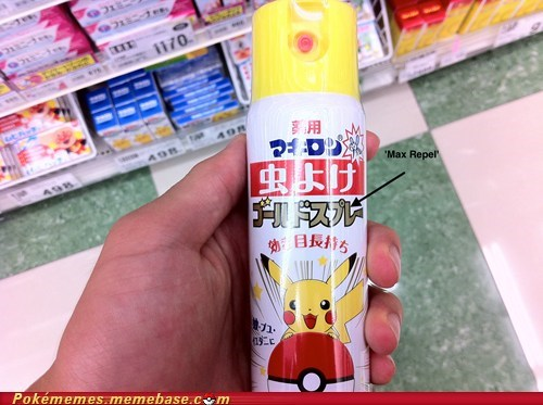IRL,Japan,max repel,pikachu