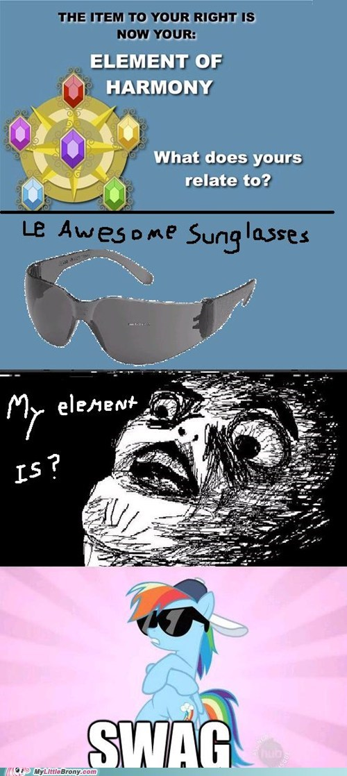 best of week brony element of harmony sunglasses swag the internets - 6419347456