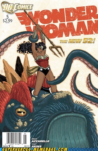 japanese entertainment Straight off the Straight off the Page tentacles wonder woman - 6419422720