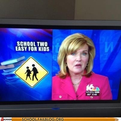 make it harder news news humor school too easy - 6419481856
