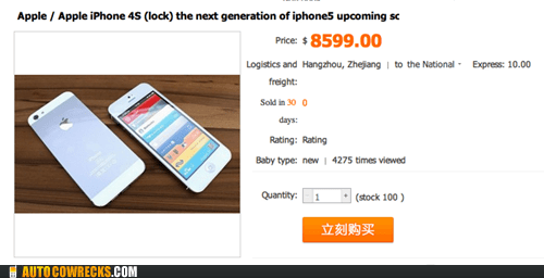 China iphone 5 seems legit selling phone - 6419489280