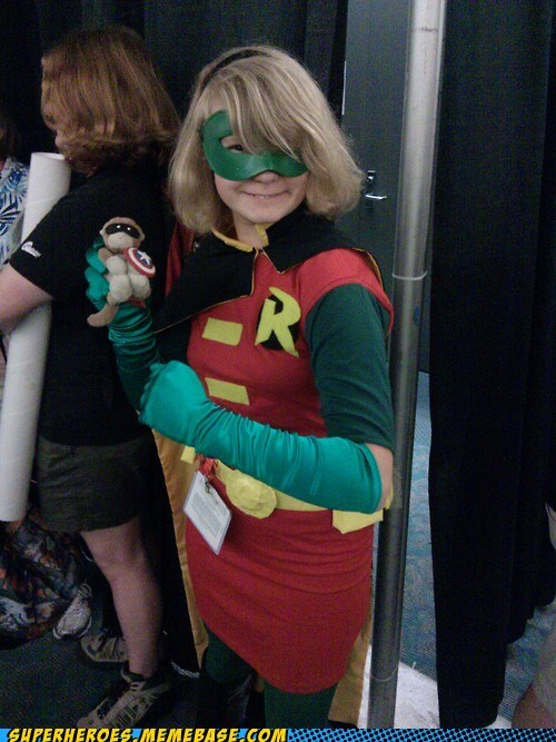 costume robin saturday morning Saturday Morning Cartoons sdcc 2012 stephanie brown - 6419537152
