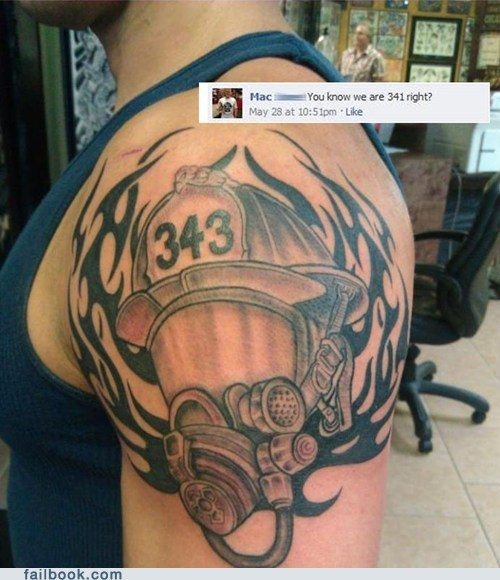 fire station firefighter tattoo - 6419548416