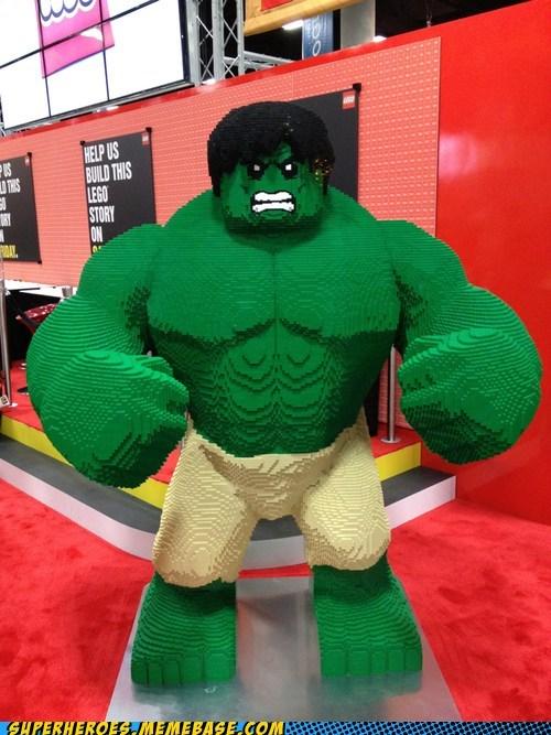 amazing hulk lego Random Heroics sdcc 2012 - 6419634688