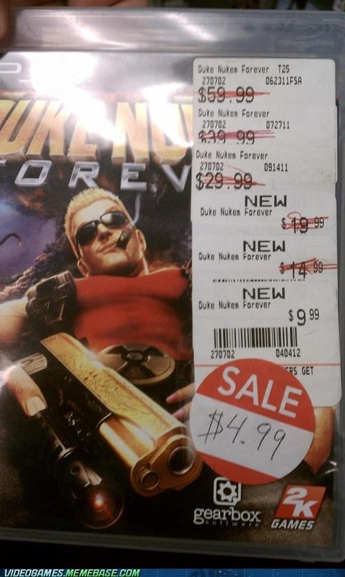Duke Nukem Duke Nukem Forever IRL irl sale price - 6419674368