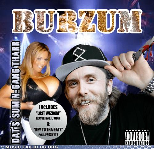 Burzum,hip hop,rap,varg,varg vikernes