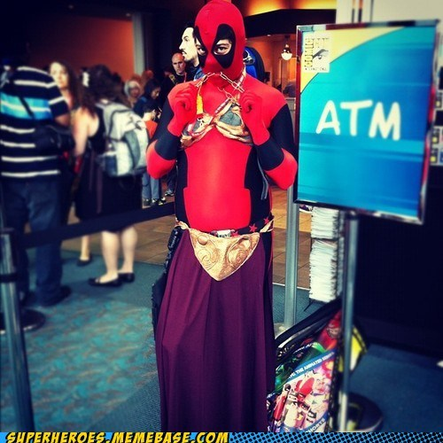awesome costume deadpool sdcc 2012 sexy times Super Costume - 6419790848