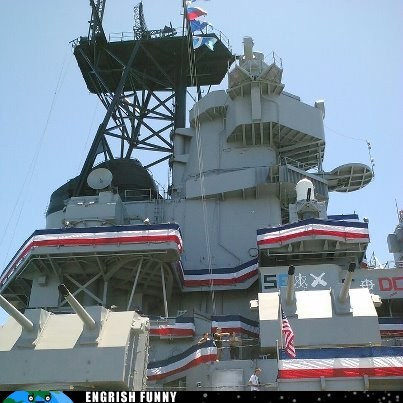 america american American Flag france french french flag united states usa uss iowa - 6419806976