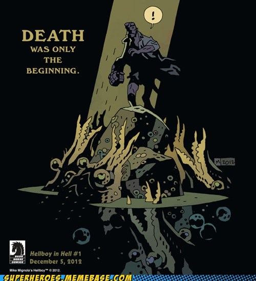 Death,hell,hellboy,news,sdcc 2012,Straight off the,Straight off the Page