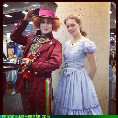 alice in wonderland cosplay mad hatter SDCC - 6419997440