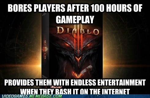 diablo III,forums,game bashing,PC