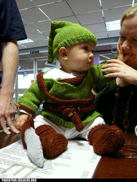 baby costumes link the legend of zelda - 6420183296