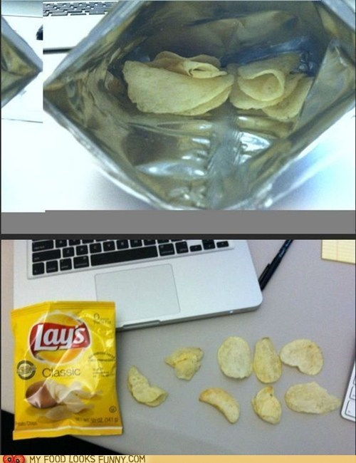 bag cheap chips Lays potato chips ripoff