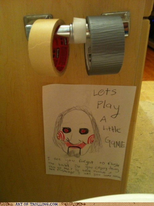 IRL saw tape toilet paper - 6420211968