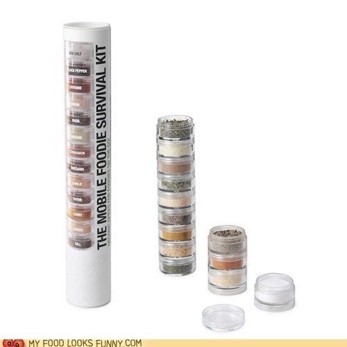seasoning spices stack survival kit tower