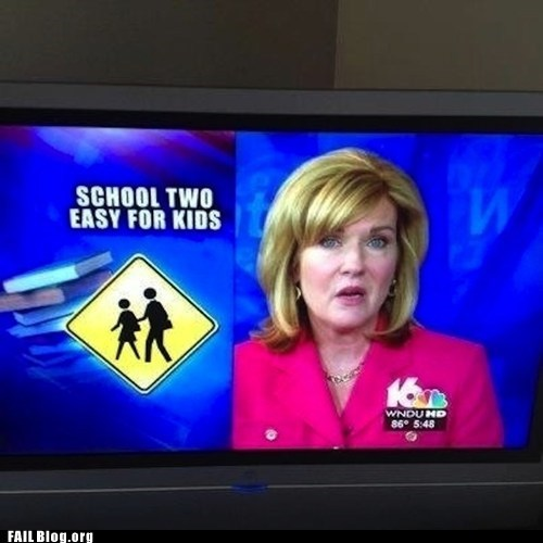 ironic misspelling news school - 6420384768