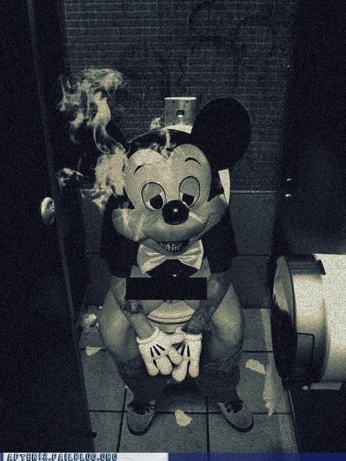 cigarette mickey mickey mouse minnie mouse smoking - 6420541440