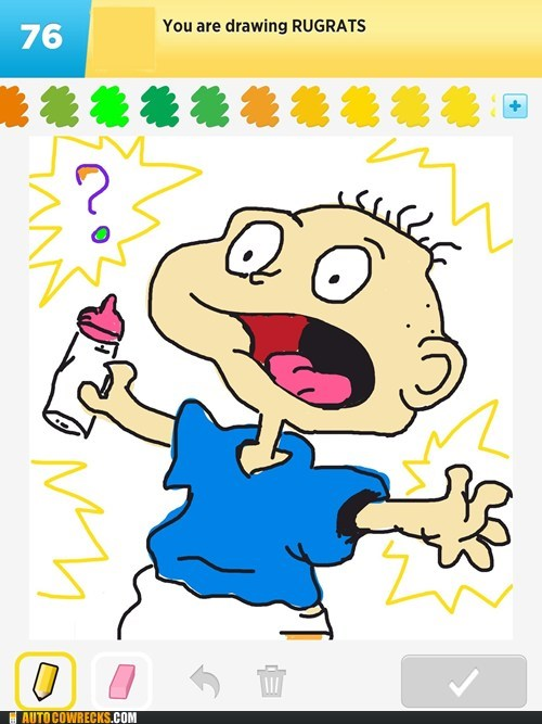draw something rugrats Tommy Pickle - 6421550592