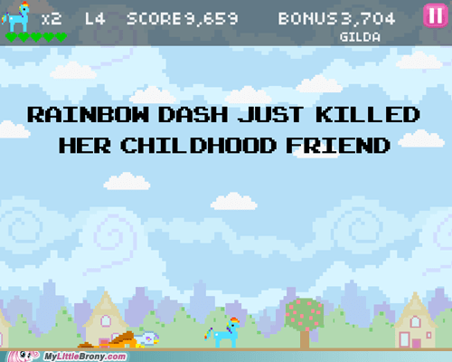 8bit-mlp-video-game rainbow dash the hub the internets - 6422024192