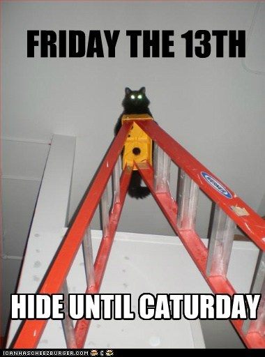 FRIDAY THE 13TH HIDE UNTIL CATURDAY