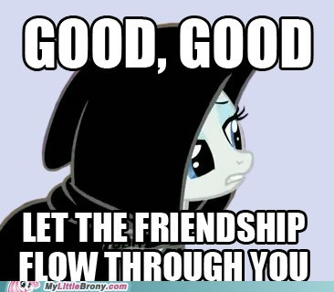 dark side flow through you friendship meme star wars - 6422600448