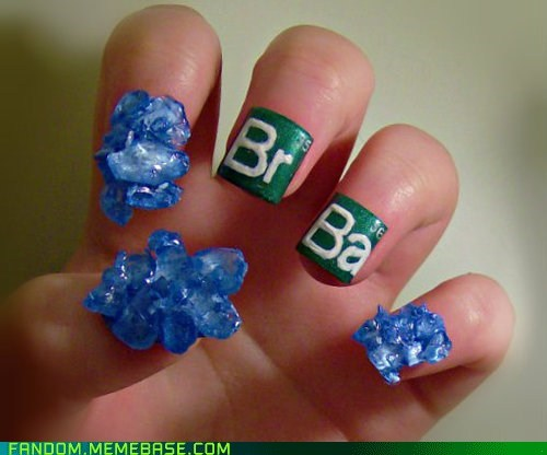 breaking bad,Fan Art,nail art,TV