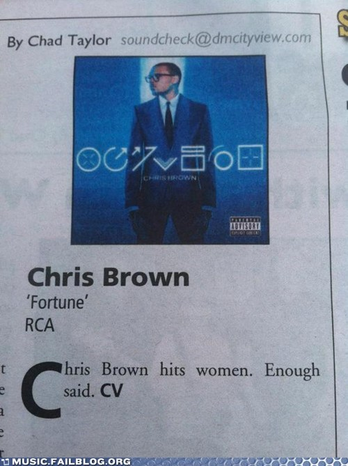 chris brown,fortune,review